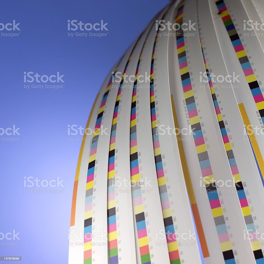 Wave of color. royalty-free stock photo