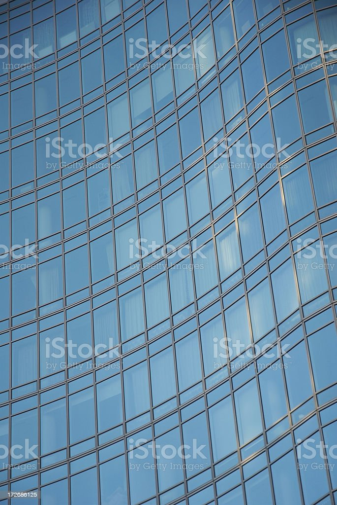 Wave of Glass royalty-free stock photo