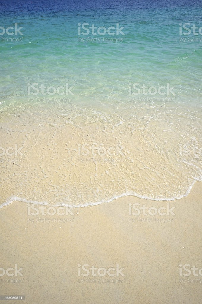 Wave of the sea. stock photo