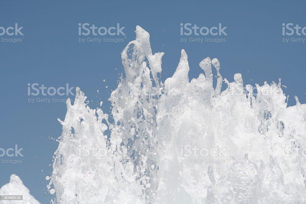 Wave of Water Horizontal royalty-free stock photo