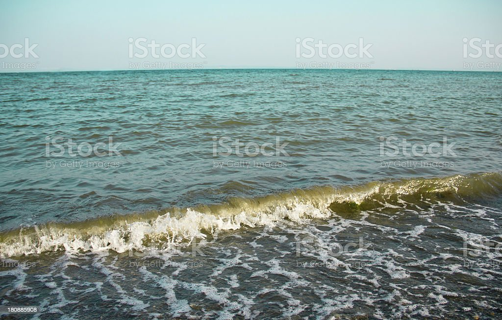 wave royalty-free stock photo