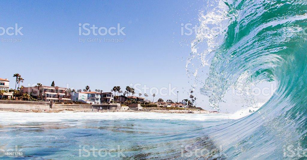 wave stock photo