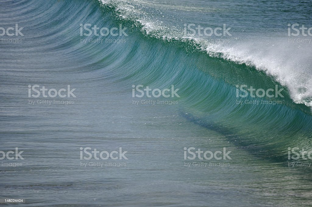 Wave ramp stock photo