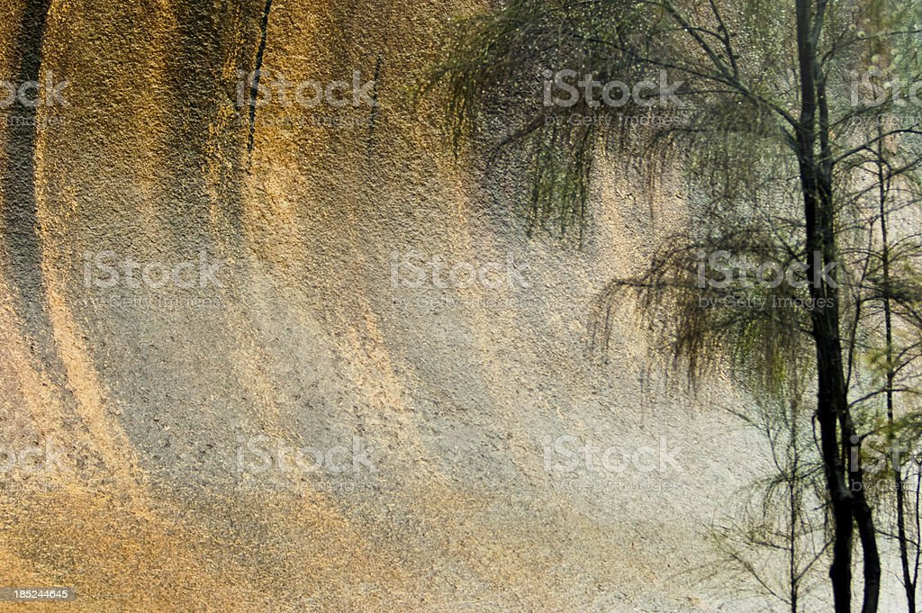 Wave Rock stock photo