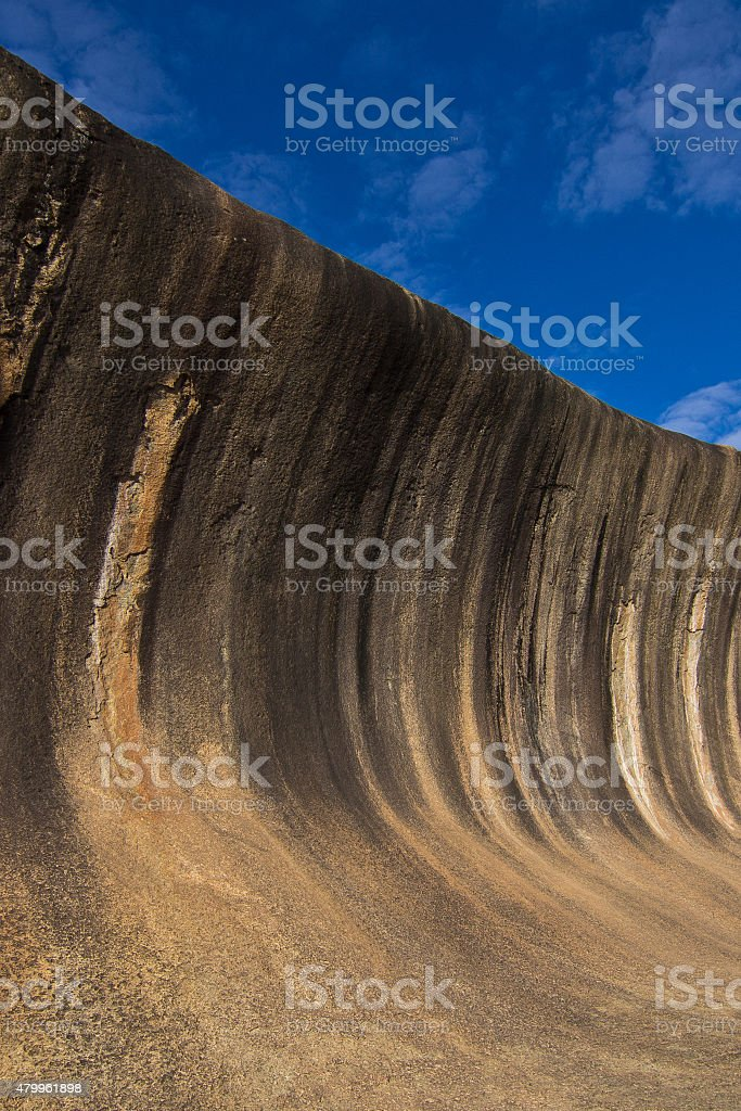 Wave Rock, Western Australia stock photo
