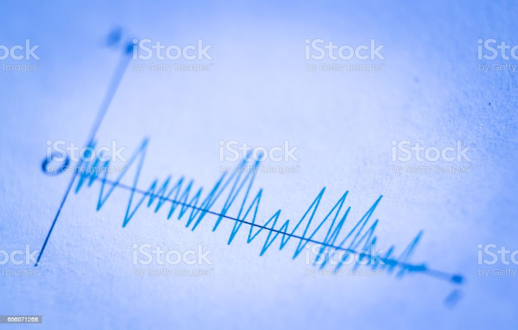 Wave Signals stock photo