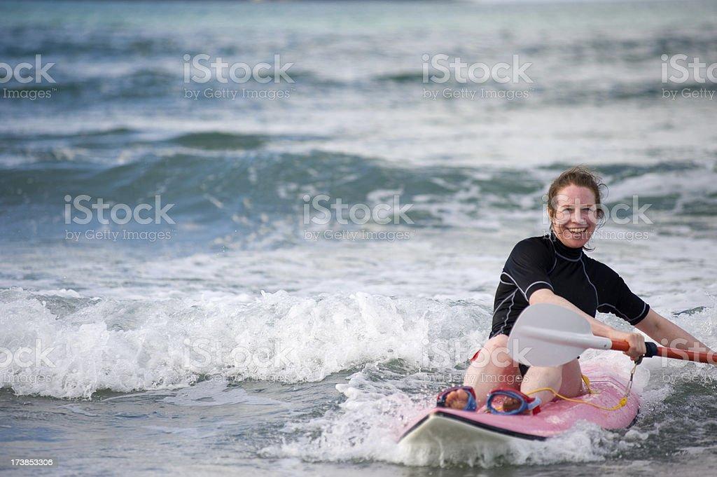 Wave ski royalty-free stock photo