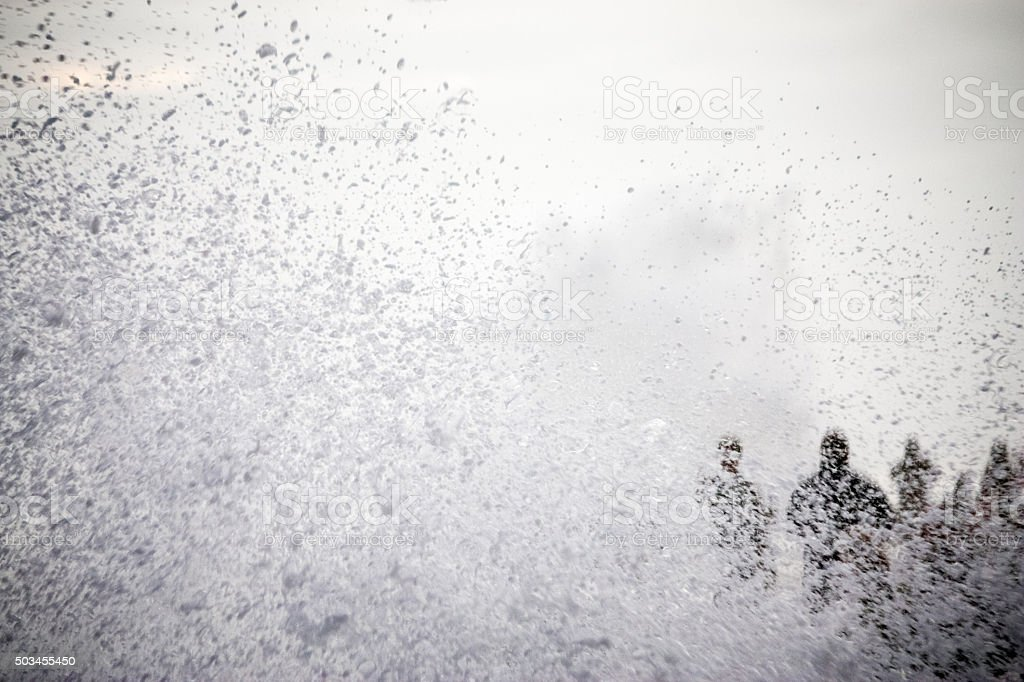 Wave Splash stock photo