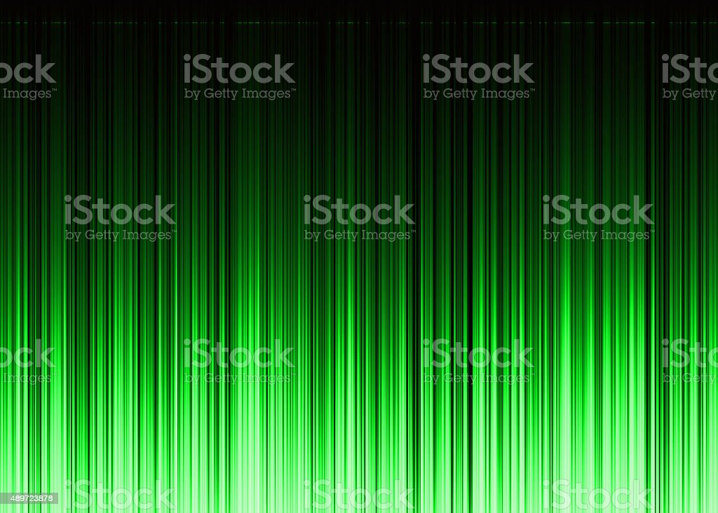 waveform green pattern with copy space stock photo