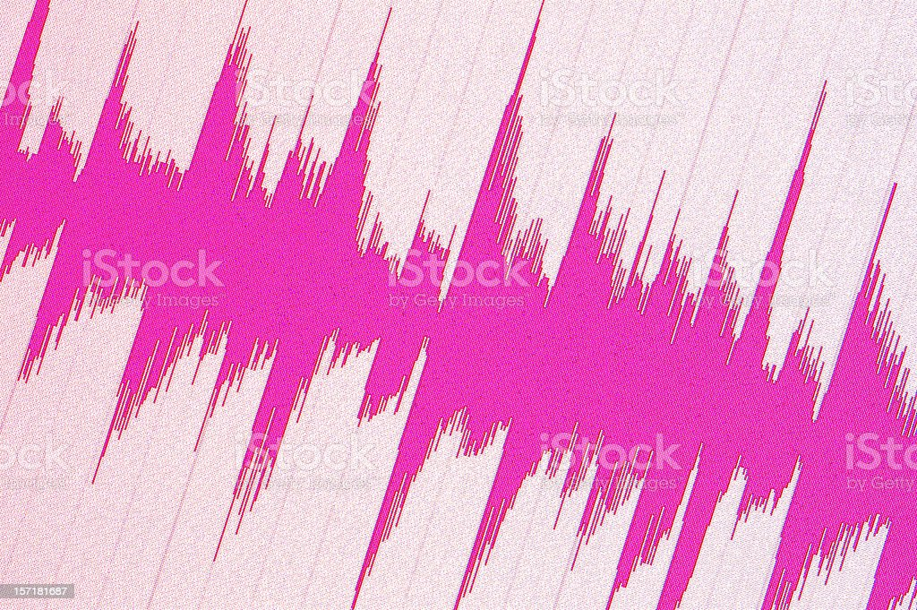 Waveform royalty-free stock photo