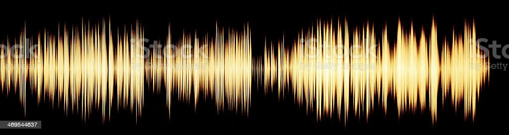 waveform royalty-free stock photo