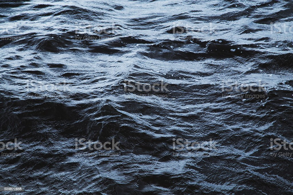 Waves and water stock photo