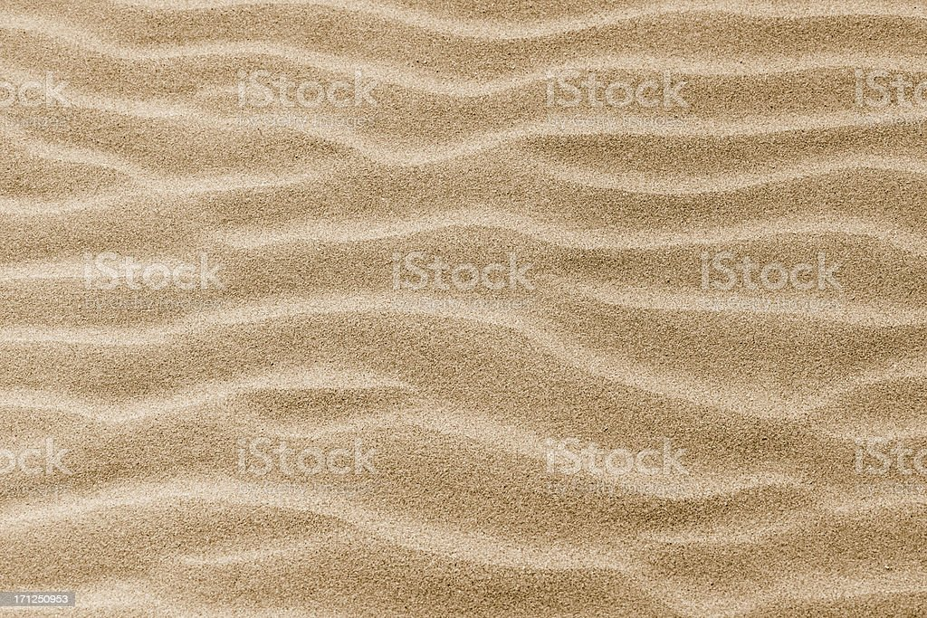 Waves at sand dunes stock photo