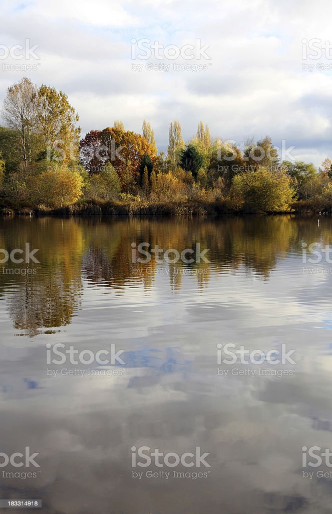 Waves from Shore royalty-free stock photo