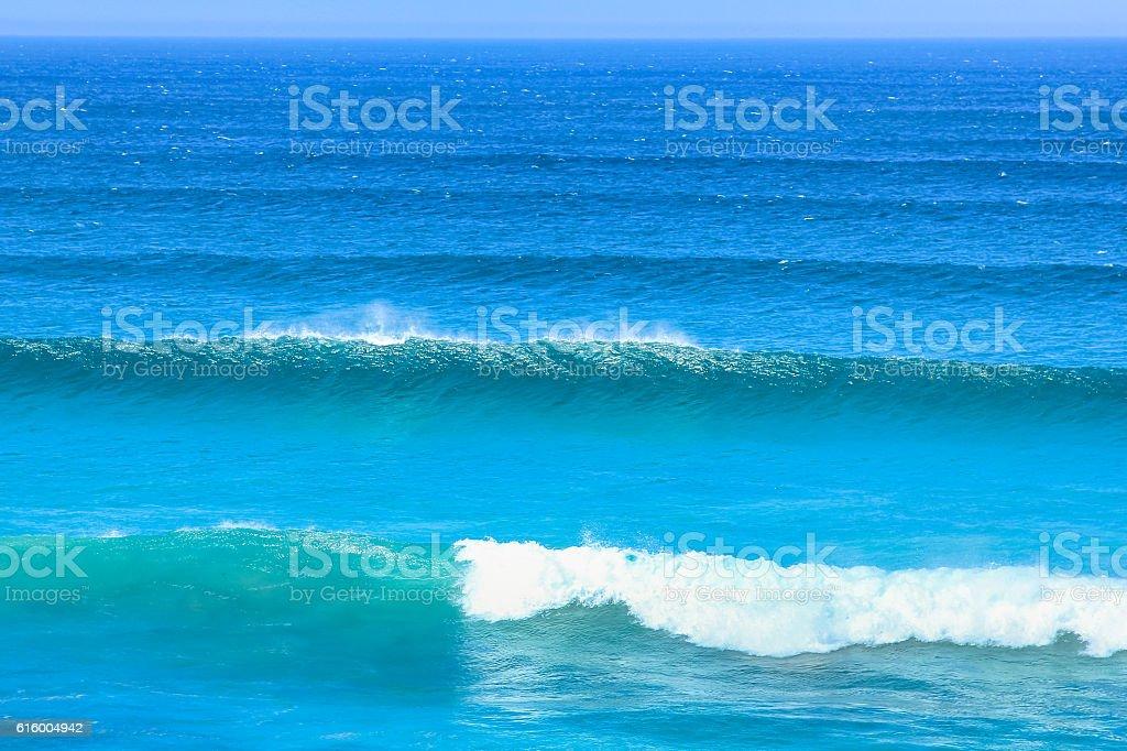 Waves in Atlantic Coast stock photo
