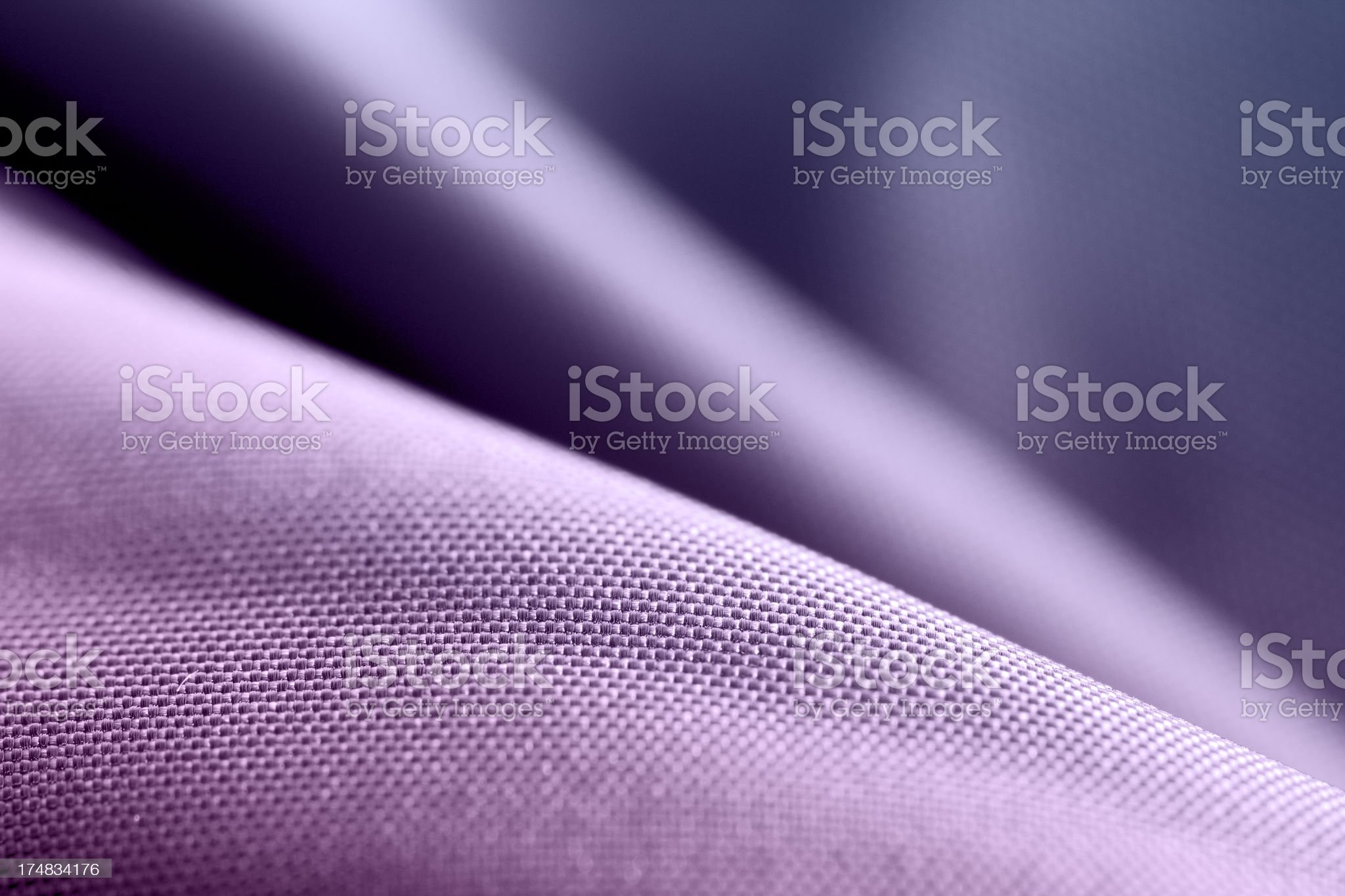 Waves of Fabric royalty-free stock photo