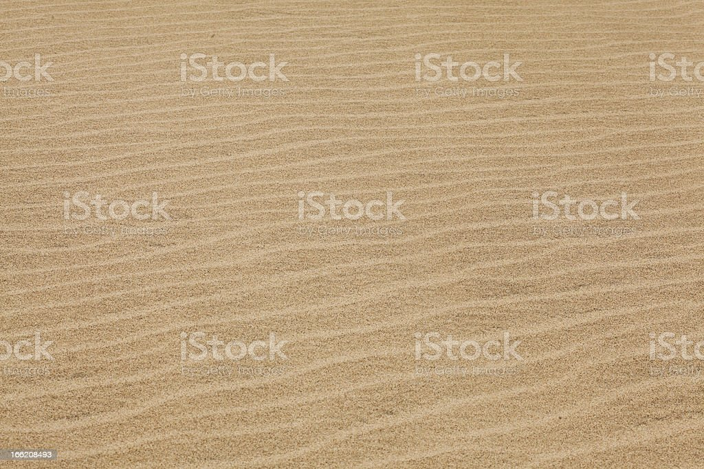 waves of sand royalty-free stock photo