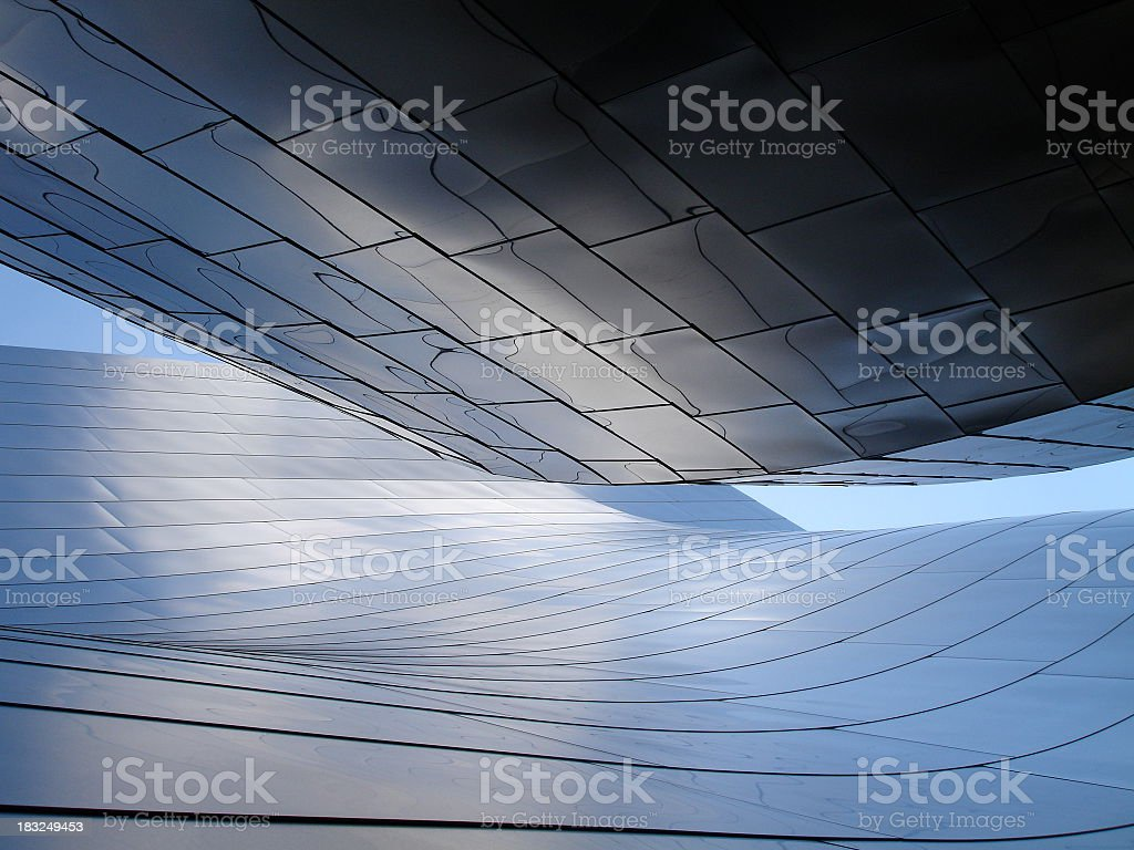 Waves of Steel royalty-free stock photo