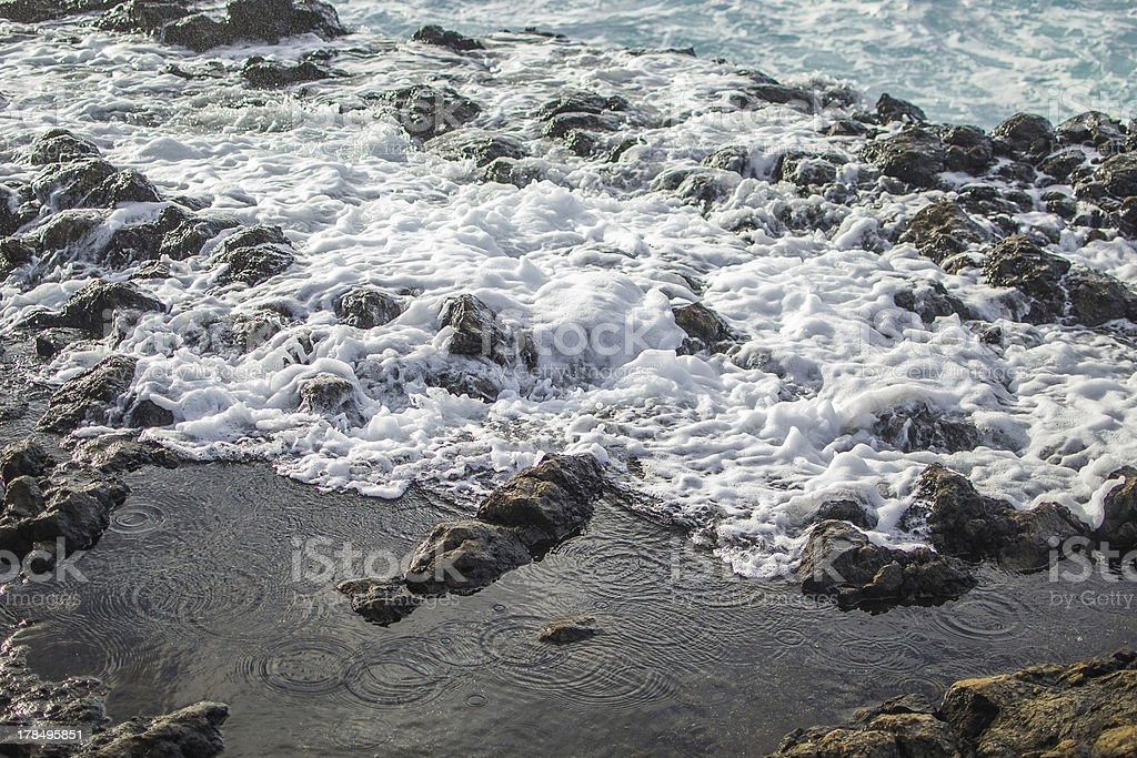 Waves of the sea royalty-free stock photo