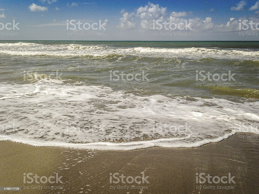 waves on the ocean royalty-free stock photo
