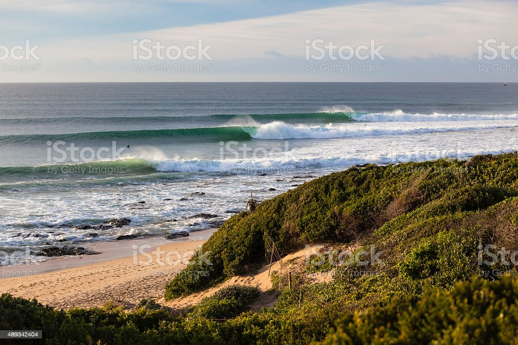 Waves Perfection stock photo
