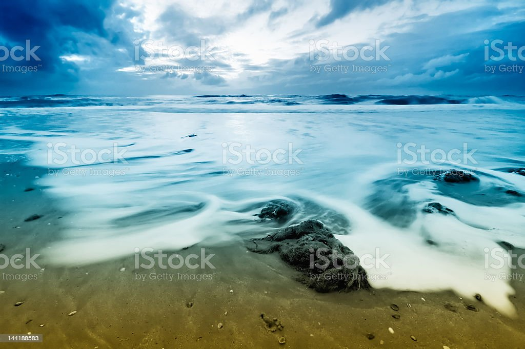 Waves royalty-free stock photo