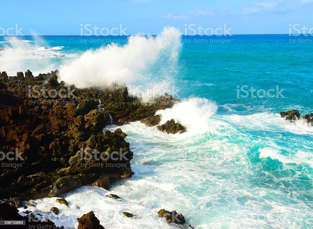 Waves stock photo