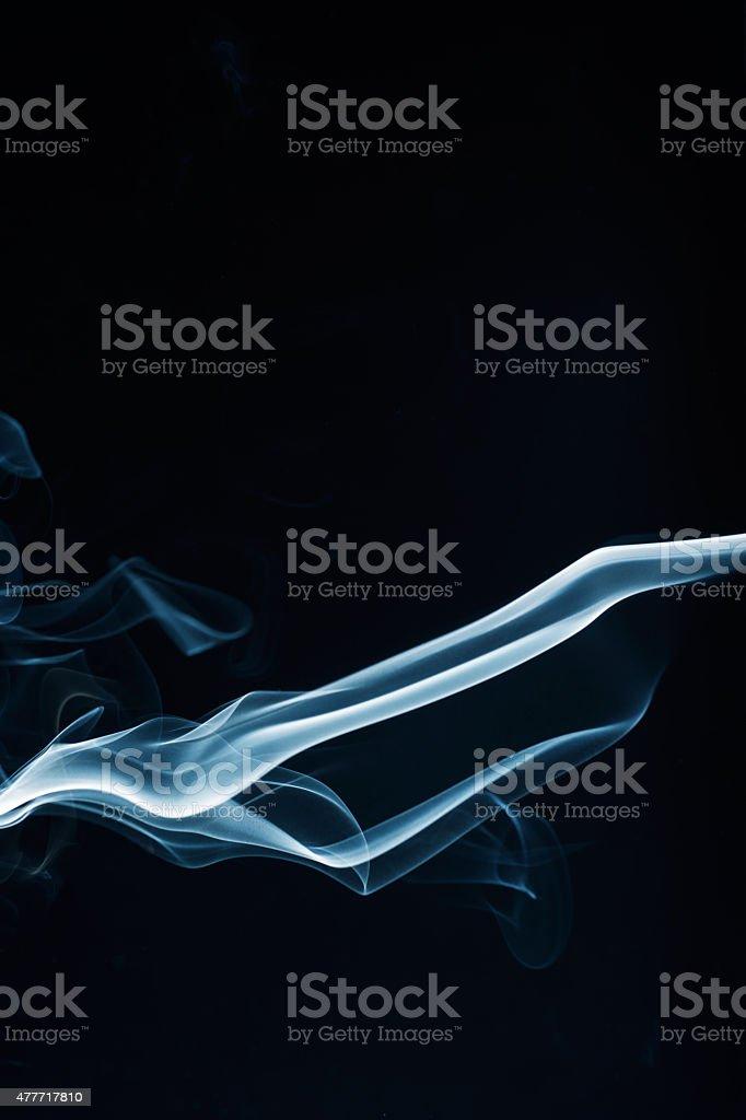 waves Smoke steam Cloud royalty-free stock photo