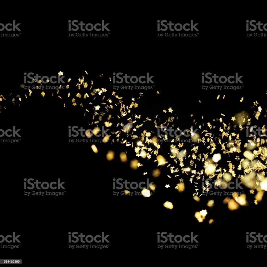 waving stars stock photo