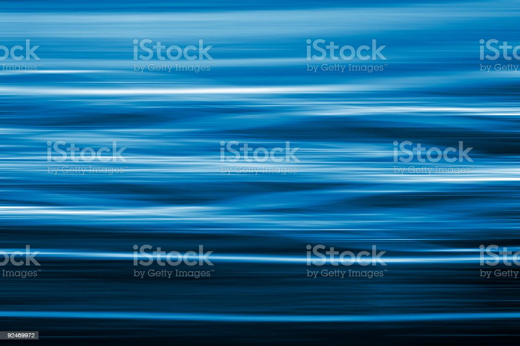 Wavy blue and white aquatic background stock photo