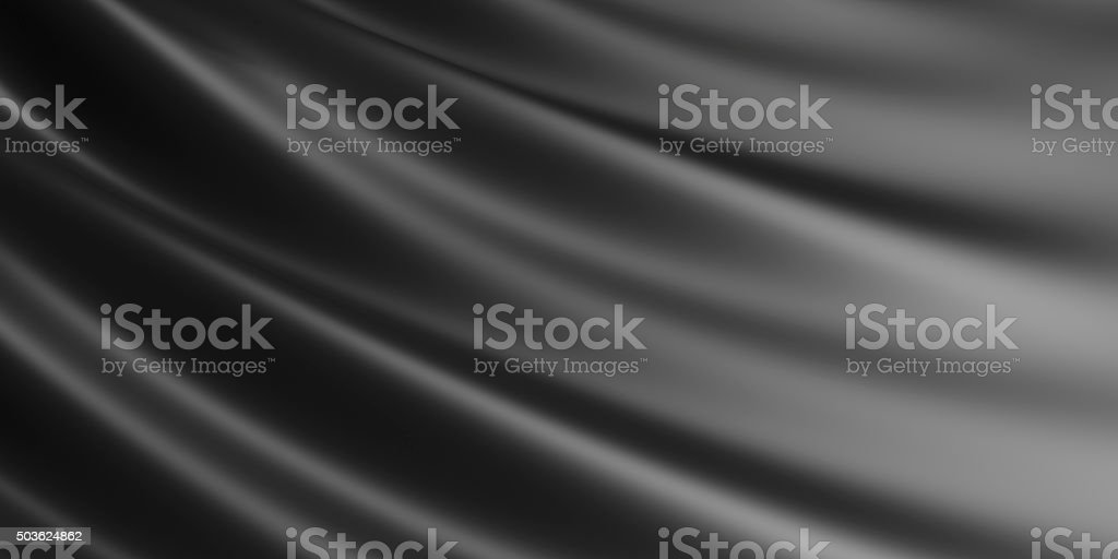 Wavy fabric background. stock photo
