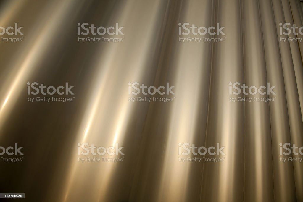 Wavy Metal Background royalty-free stock photo