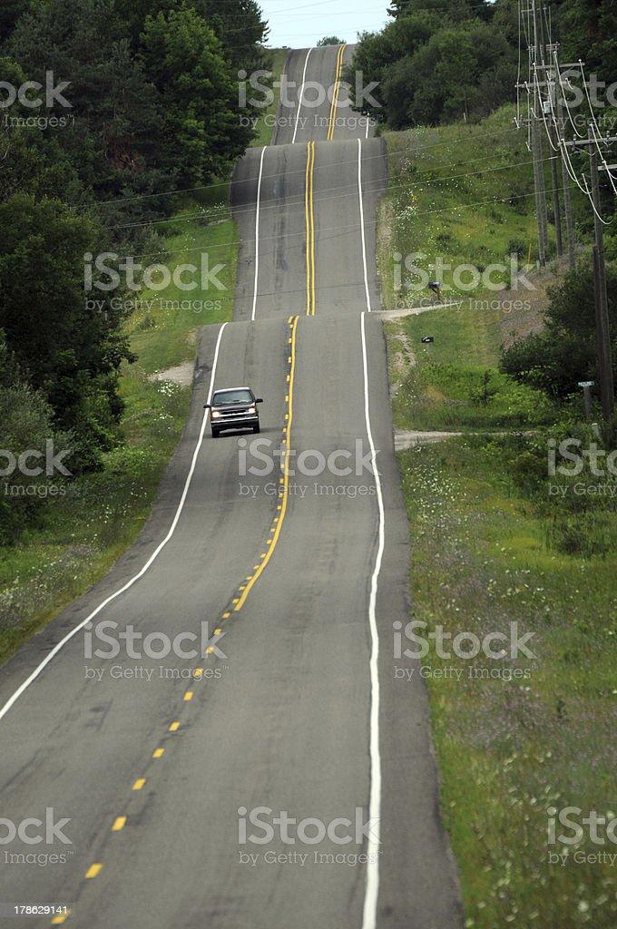 Ondulés Road photo libre de droits
