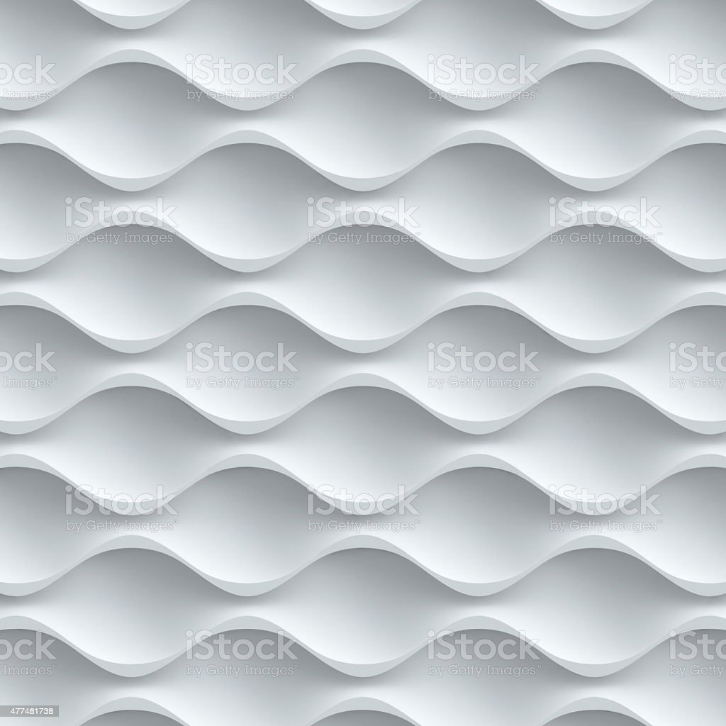 wavy seamless 3d background stock photo