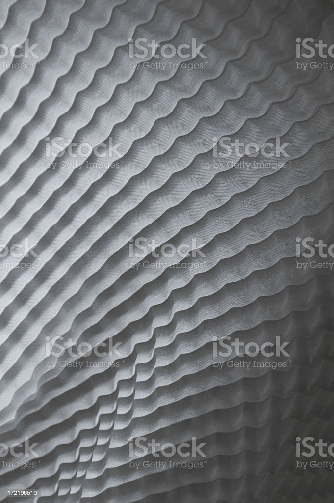 Wavy Shadows Black & White Background royalty-free stock photo