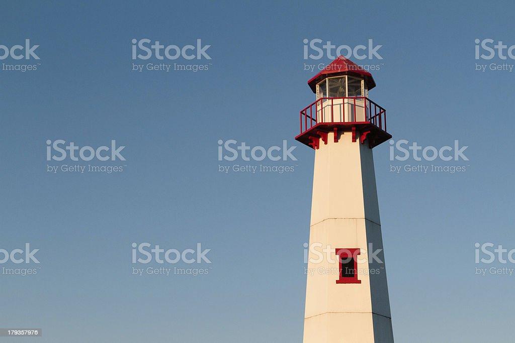 Wawatam Lighthouse royalty-free stock photo