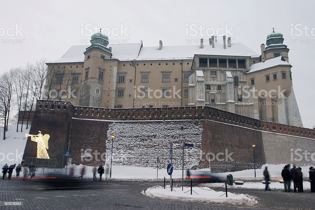 Wawel Castle royalty-free stock photo