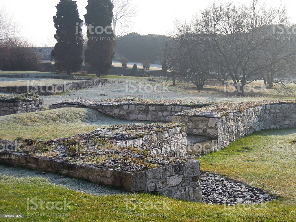 Wawel Ruins royalty-free stock photo