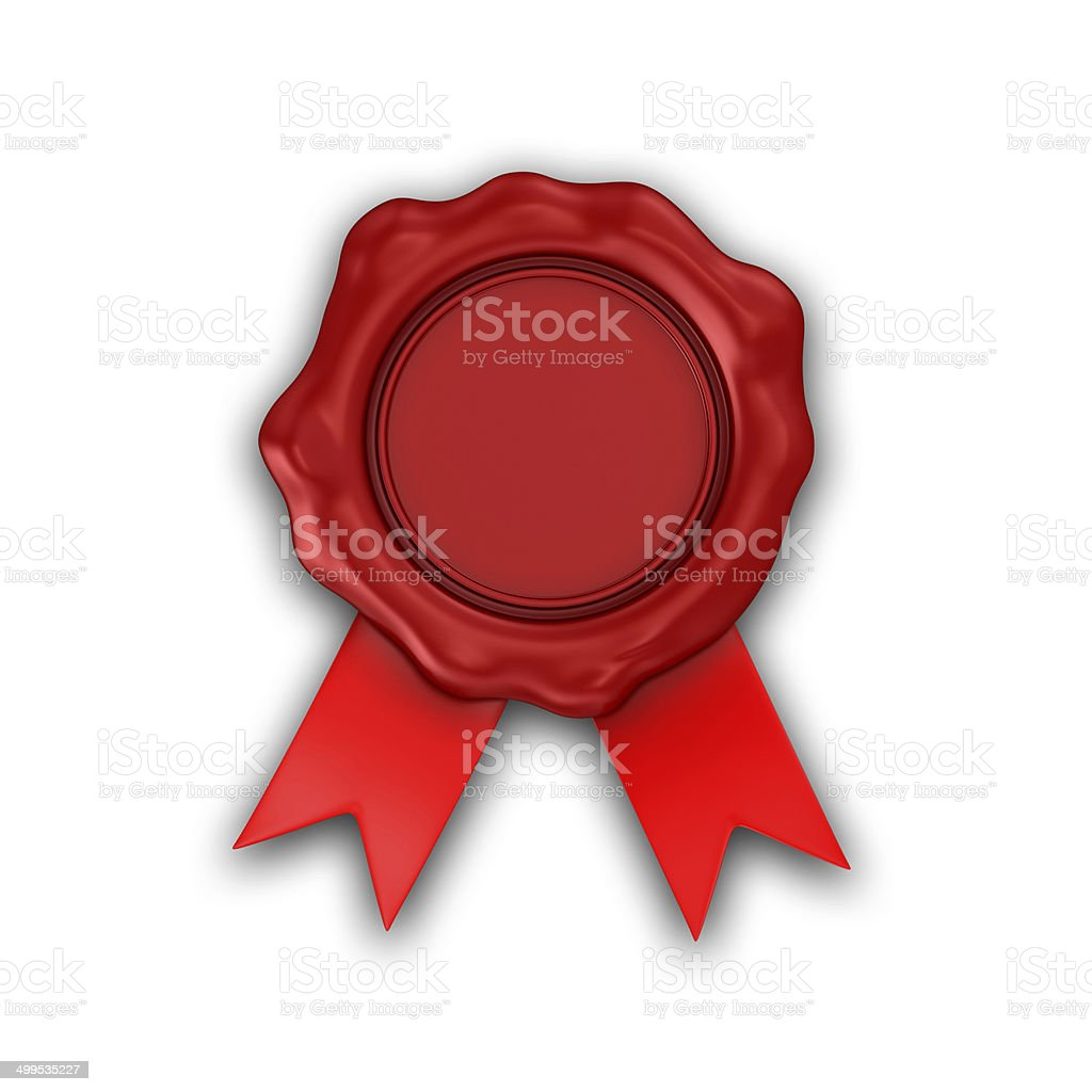 Wax Seal royalty-free stock photo