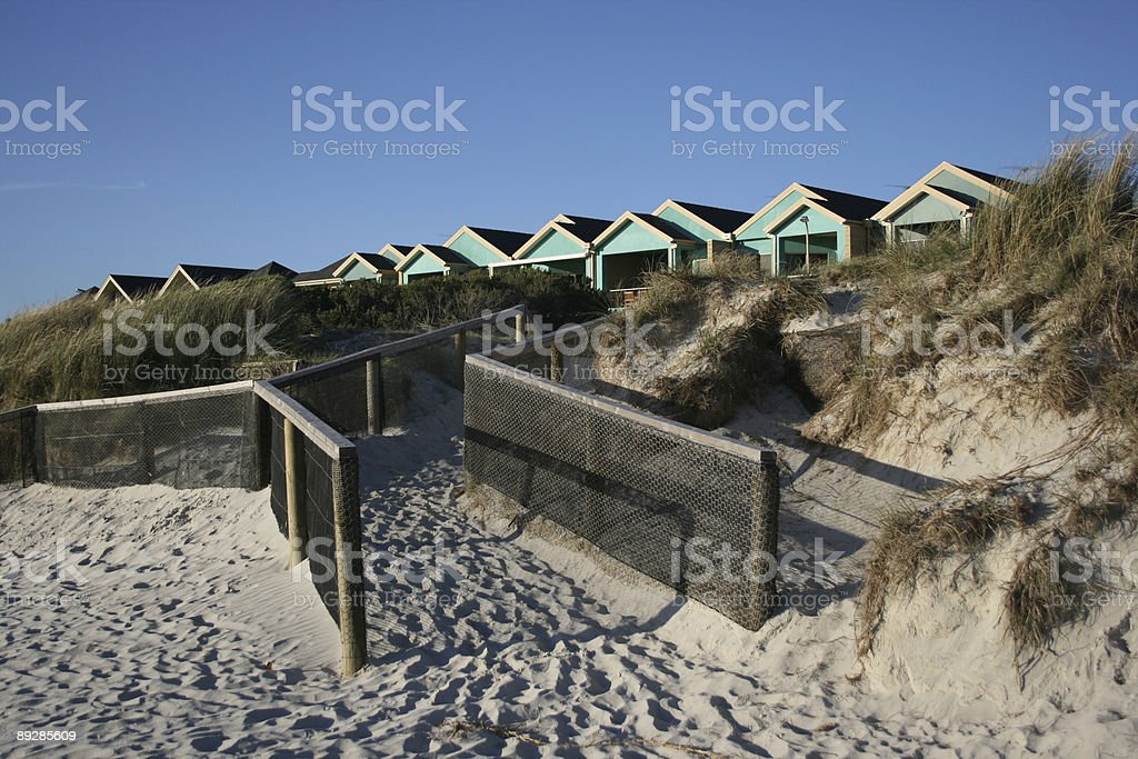 Way down to the beach royalty-free stock photo