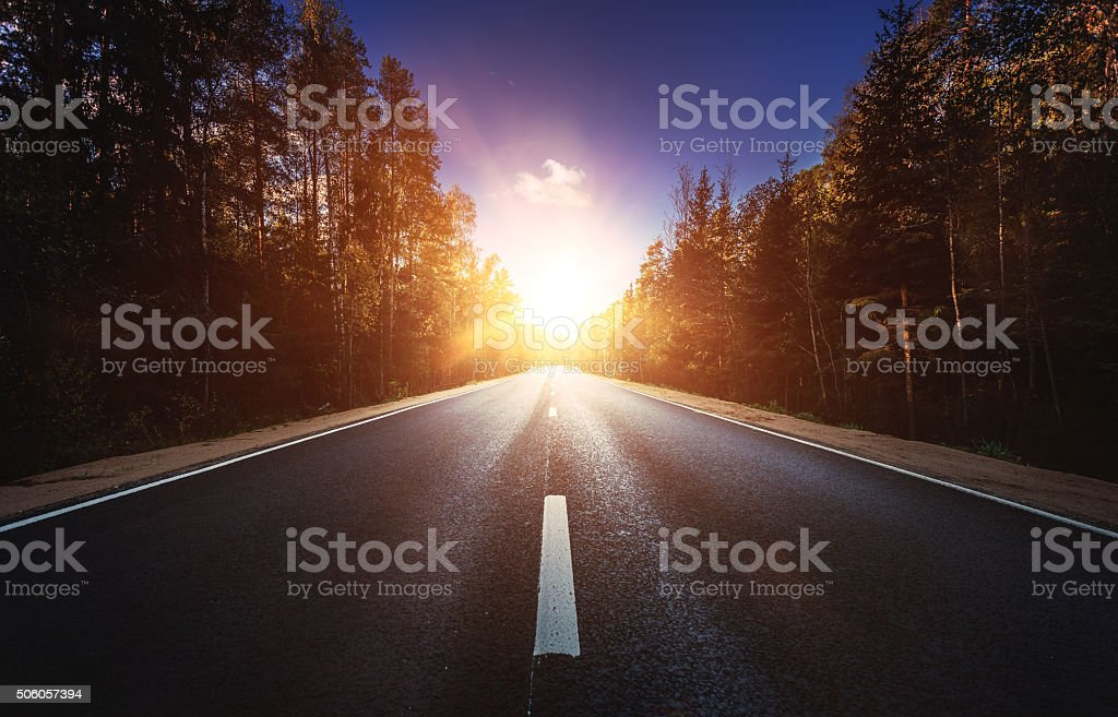 Way forward stock photo