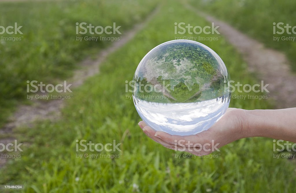 Way into the future royalty-free stock photo