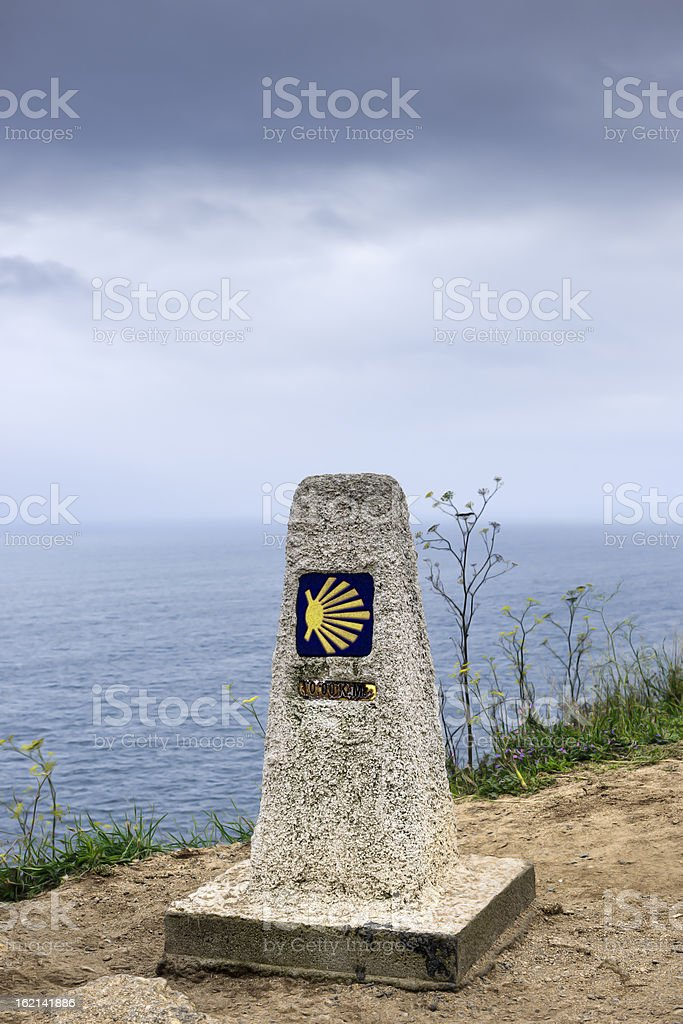 Way of St James, Galicia, Spain royalty-free stock photo
