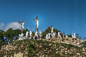 Way of the Cross and Calvary  in Pontchateau in France