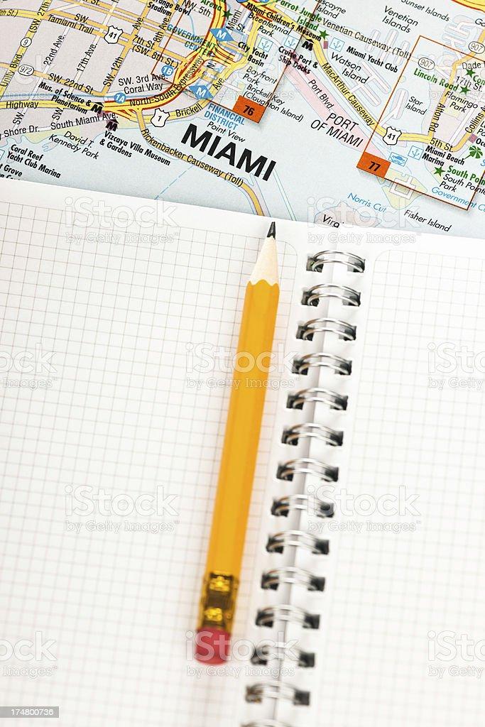 Way to Miami royalty-free stock photo