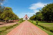 Way to Temple Wat Thanon Si Sanphet