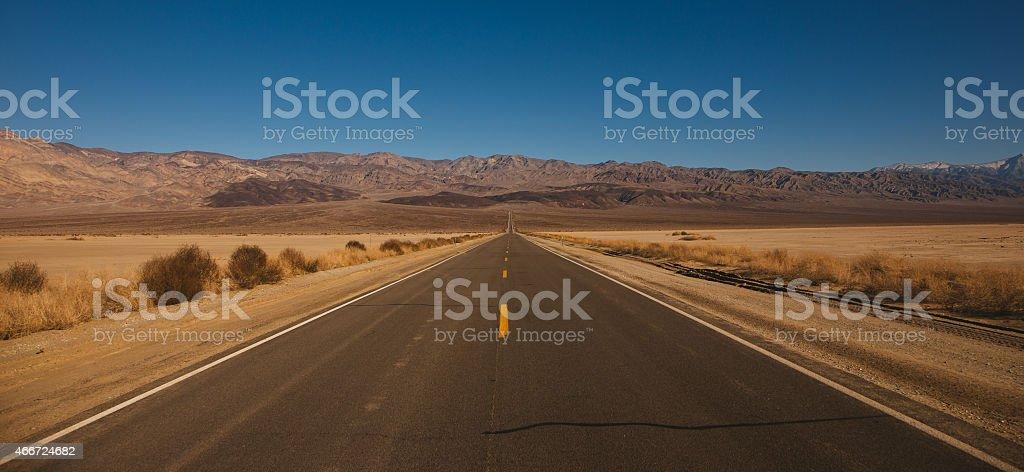 Путь к Долина Смерти Стоковые фото Стоковая фотография