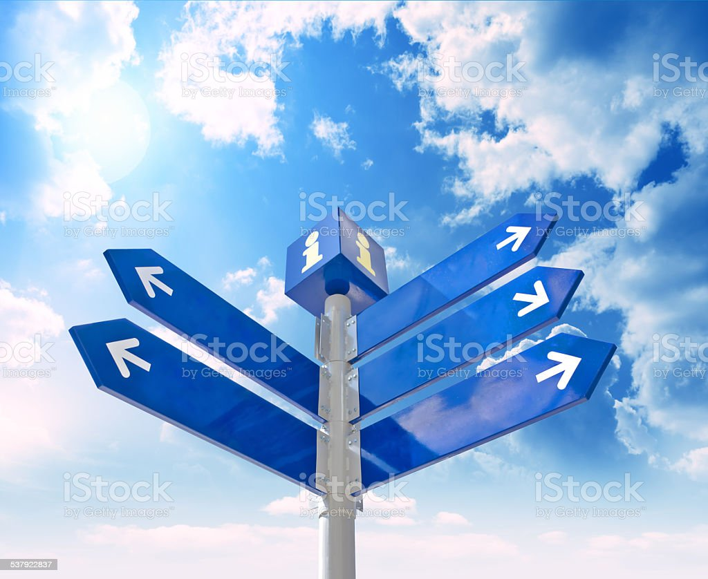 waymark stock photo