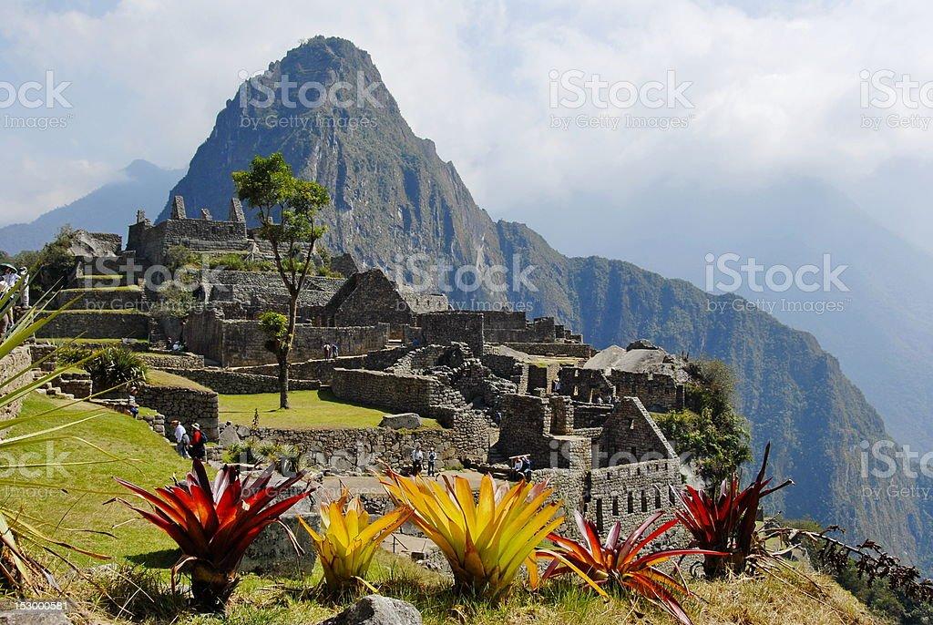 Wayna Picchu stock photo
