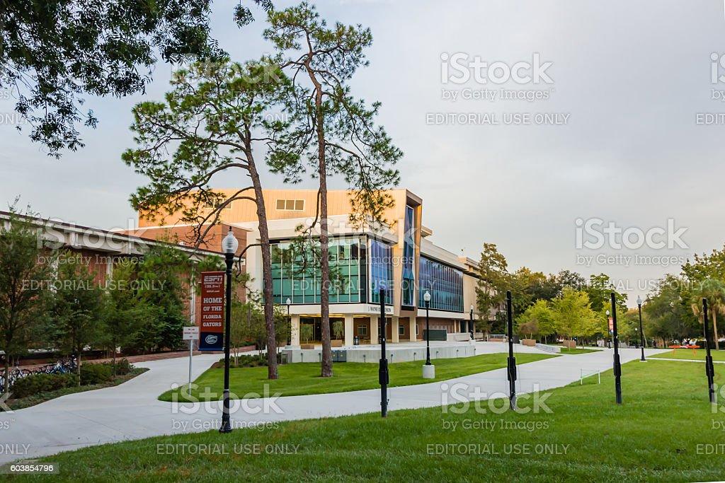 J. Wayne Reitz Union at the University of Florida stock photo